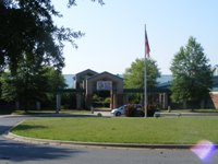 Butler High School Main Entrance