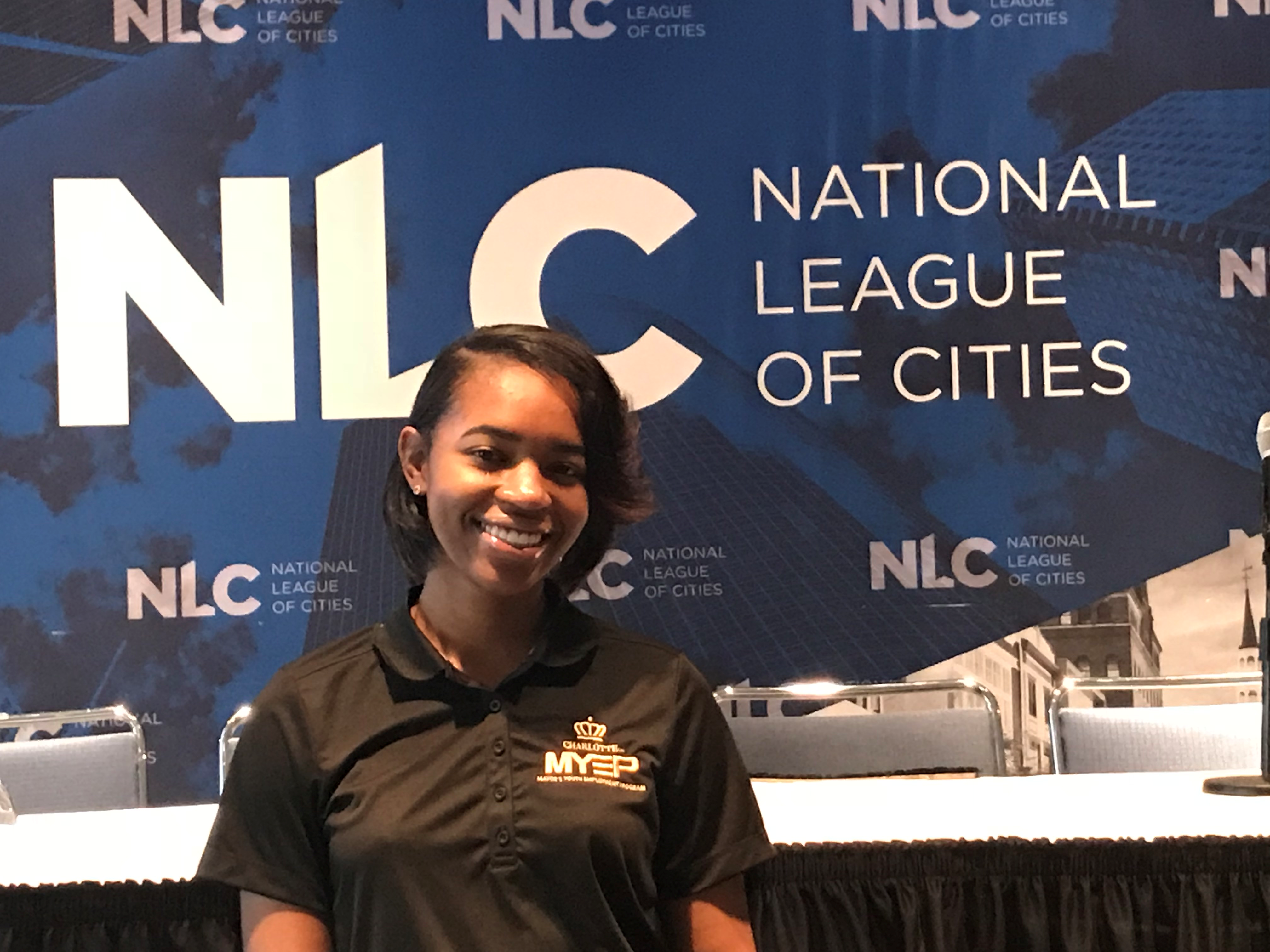 M Daniels at National League of Cities