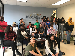 Students visit Med Assist
