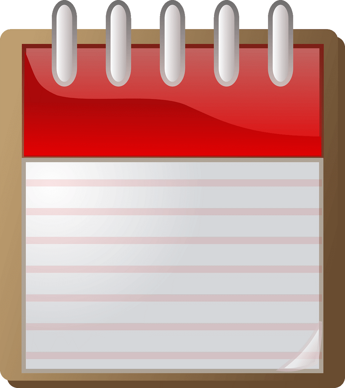 Picture of Red Note Pad