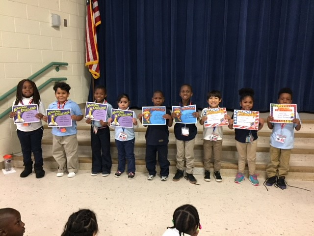 Silas Class 1st Qtr. Ceremony
