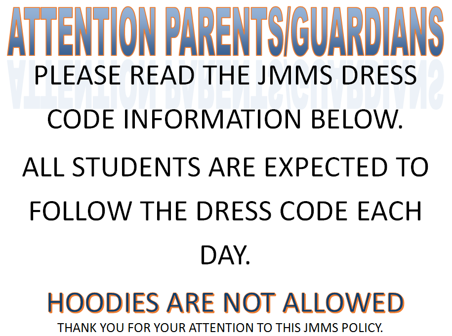 dress code requriements for jmms