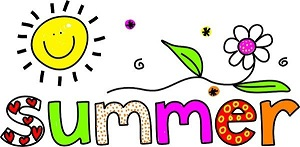 Clipart image os the word Summer.