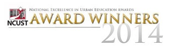 National Excellence in Urban Education Award Winner 2014
