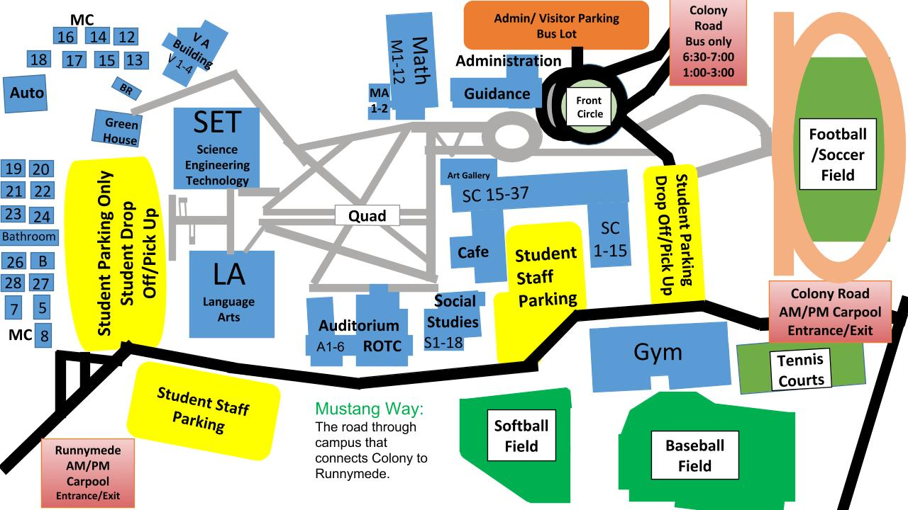 Under Armour Campus Map.About Our School