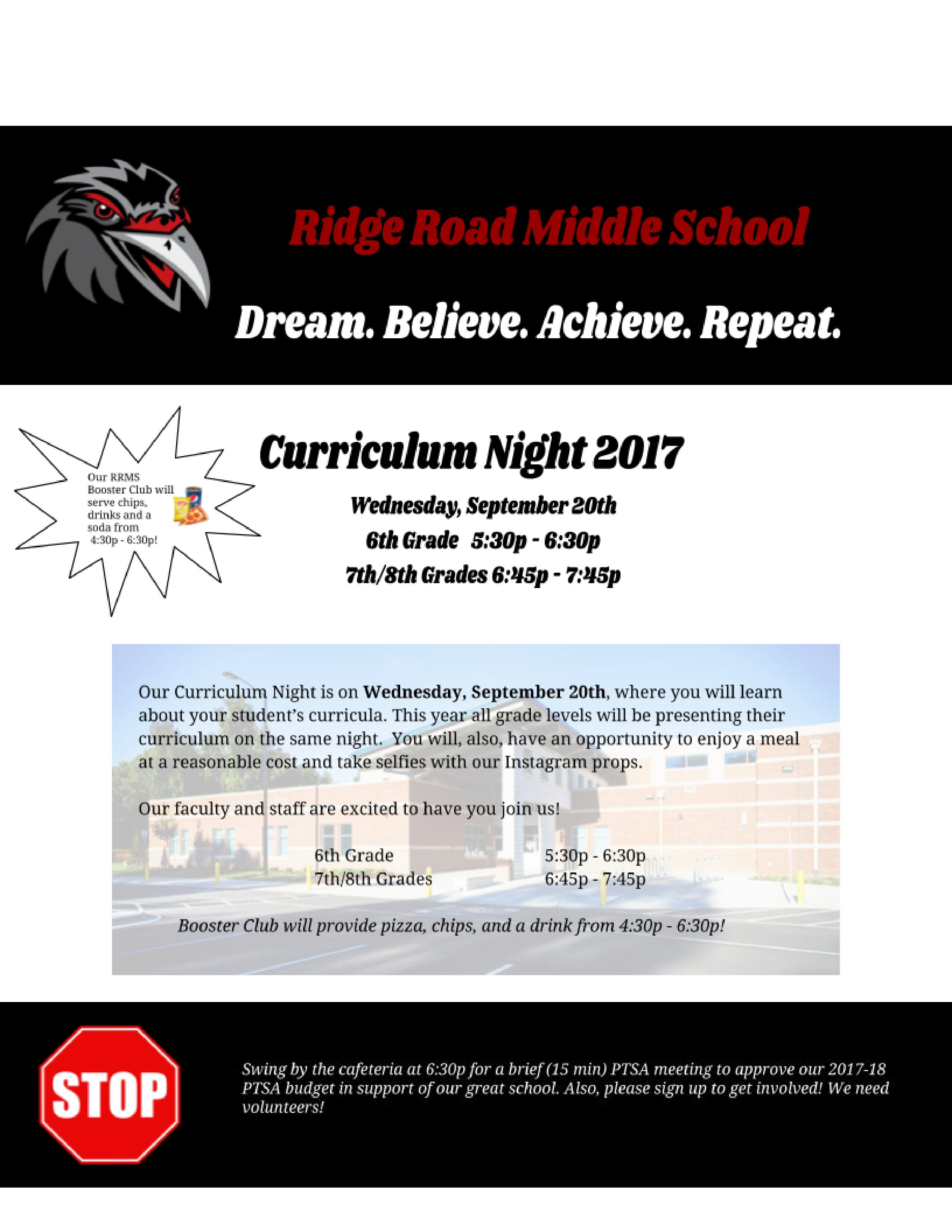 Curriculum Night Flye jpg