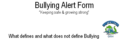 Bullying Alert Form
